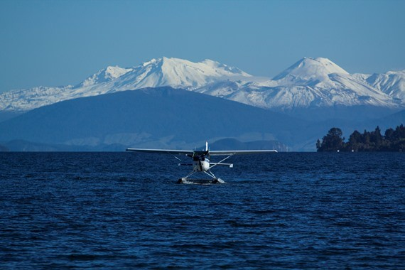 Seaplane Flights from Lake Taupo