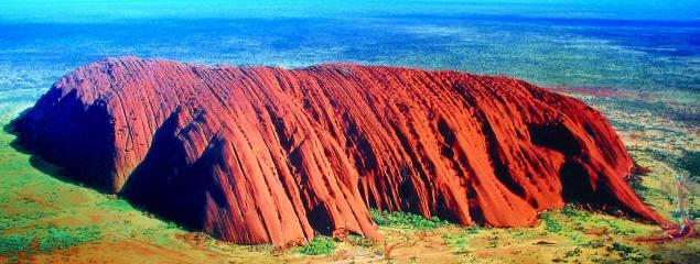 Uluru Ayers Rock Outback Vacation Dua Travel