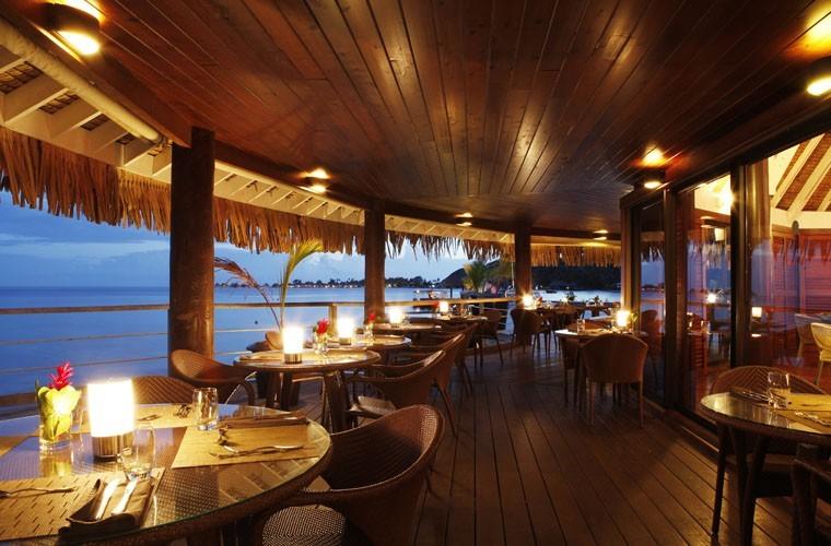 Sofitel Bora Bora Marara Beach Resort Latitude  Restaurant