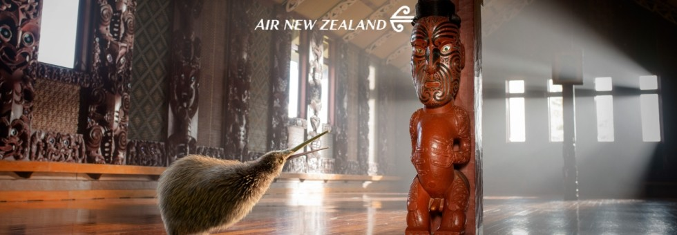 Air New Zealand . . . A Better Way to Fly to New Zealand