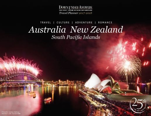 Down Under Answers Travel Planner 2017-2018