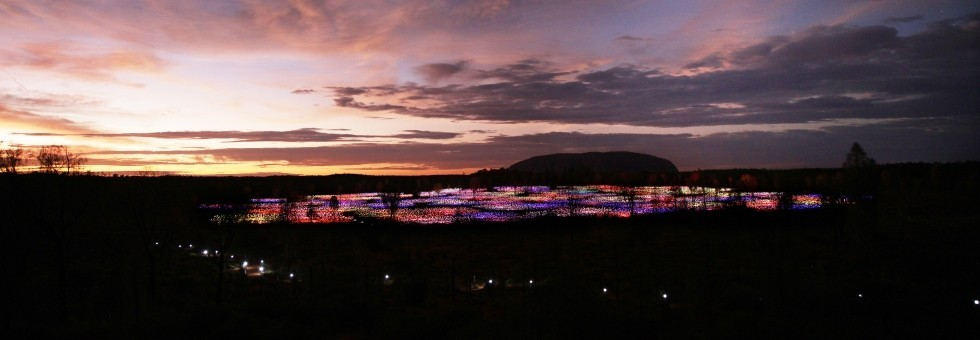 Experience Uluru and the Field of Light
