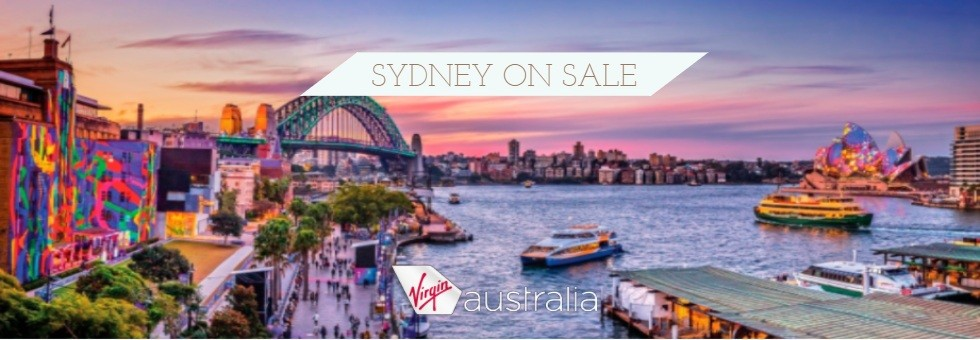 Experience Sydney with Virgin Australia from $1299pp including 6 nights hotel!