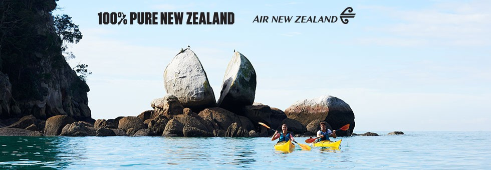Discover New Zealand with Air New Zealand