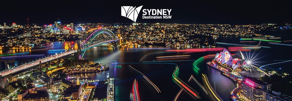 See Sydney light up and shine!  Sydney May 26 - June 17, 2017.