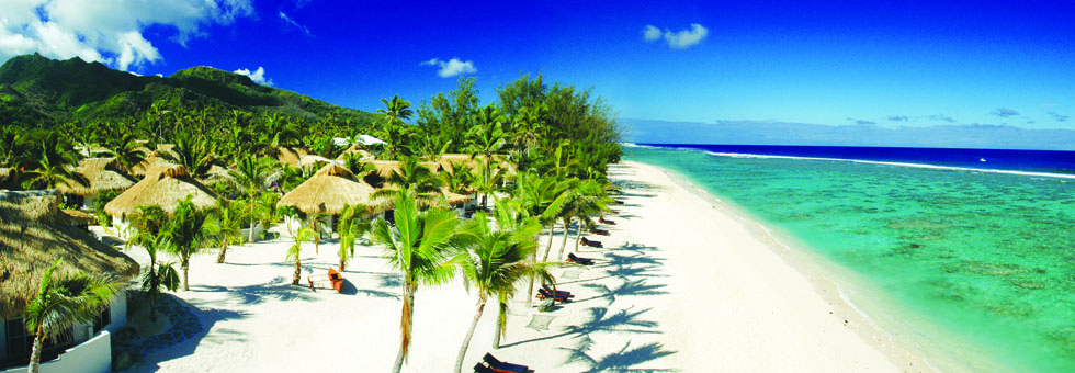 Cook Island Style - Crown Beach Resort & Spa
