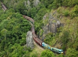 Kuranda, Scenic Rail and Skyrail