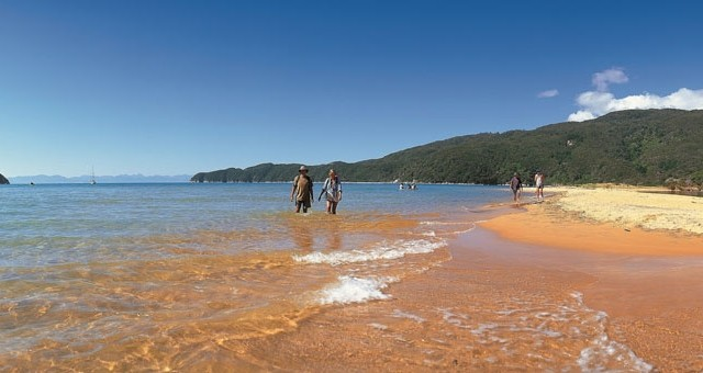 Abel Tasman National Park Guided Walk and Kayak