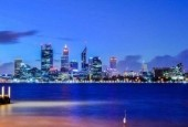 Perth and Sydney