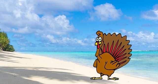 Thanksgiving in the Cook Islands